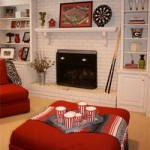 Redesign of the Month: Basement Family Room