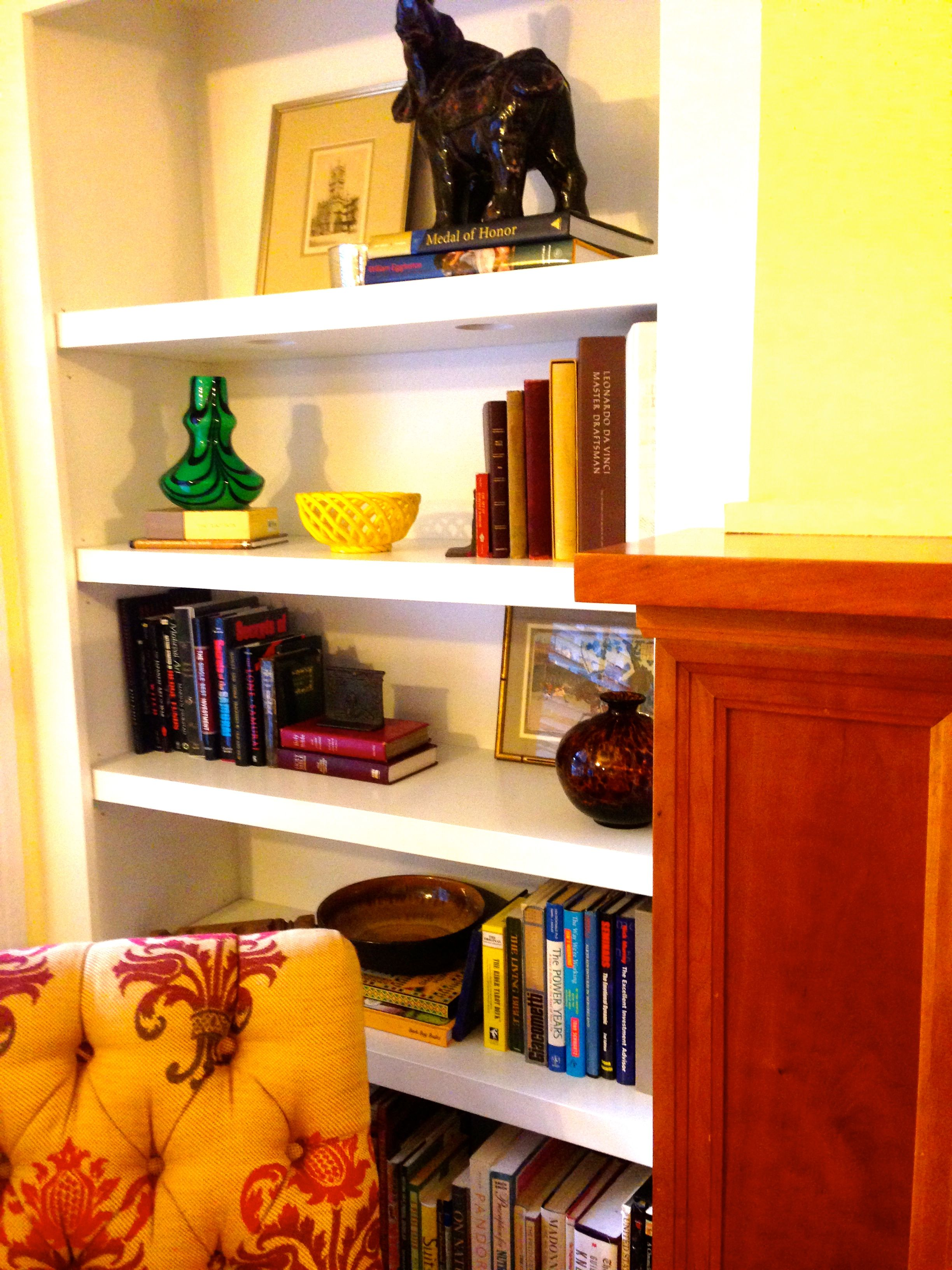 Staging Bookcases: Another Amazing Class Project!