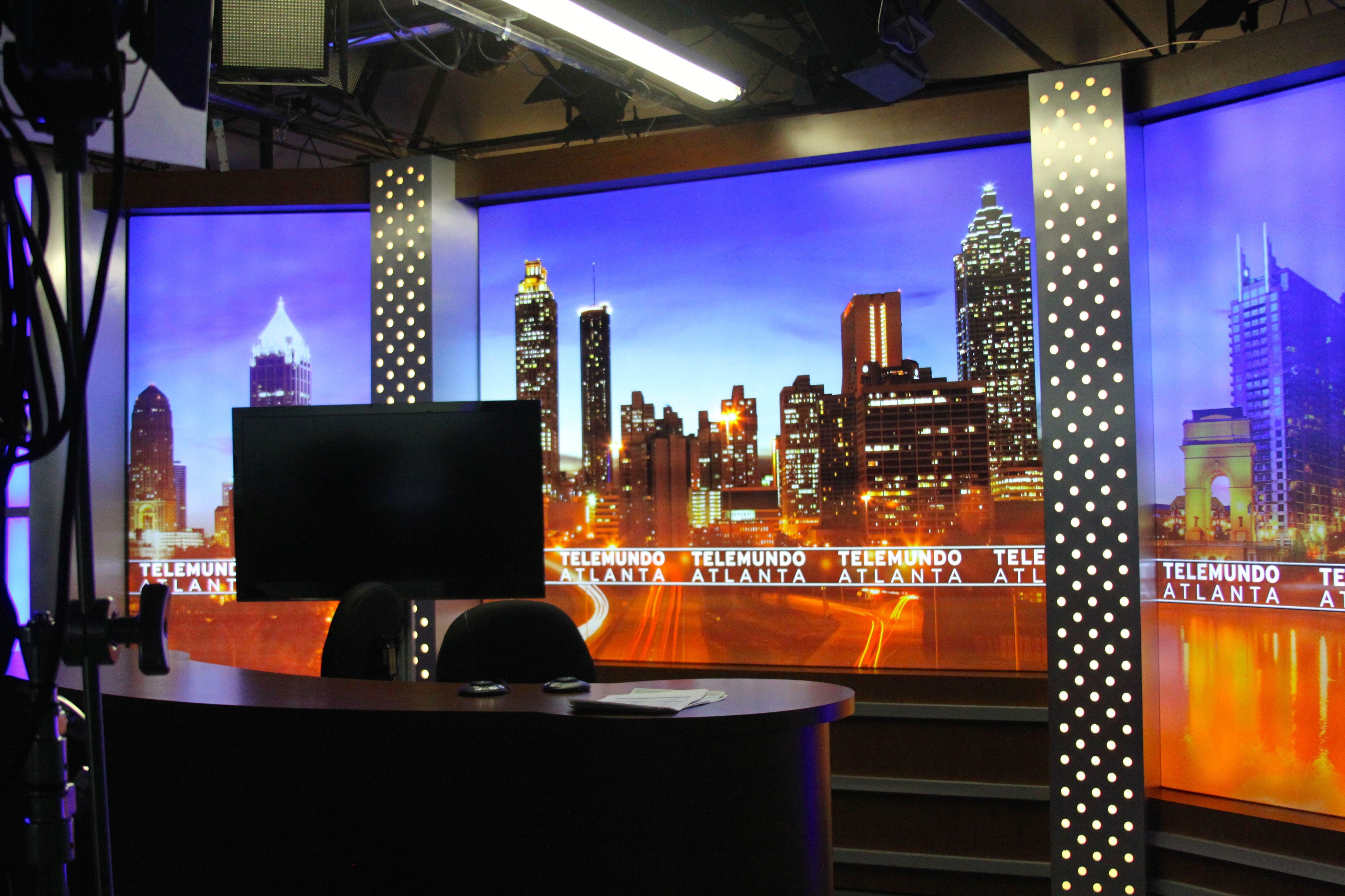 Telemundo TV Studio Design