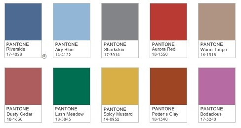 Pantone's Fall Colors