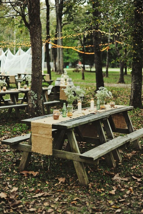 campsite table